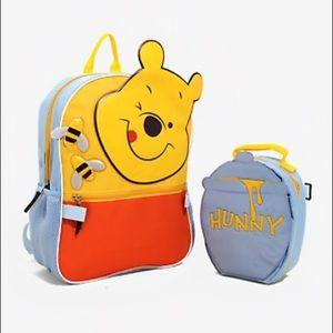 Handbags - Disney Winnie the Pooh Backpack + Lunchbag 2 Bags